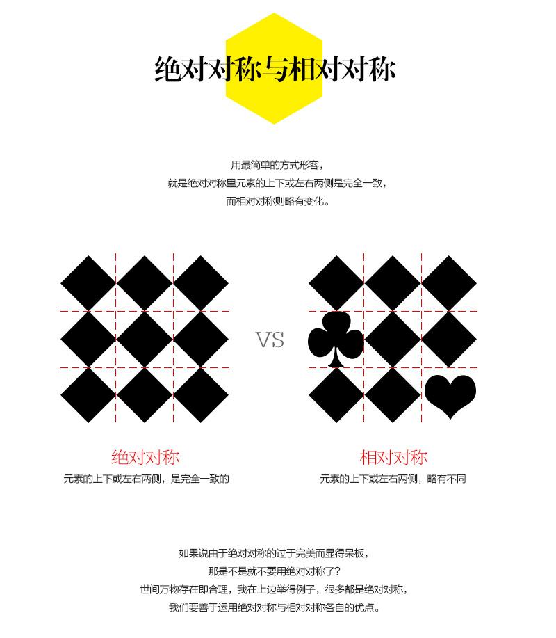 版式设计的相对对称03-莫贝网www.mobileui.cn