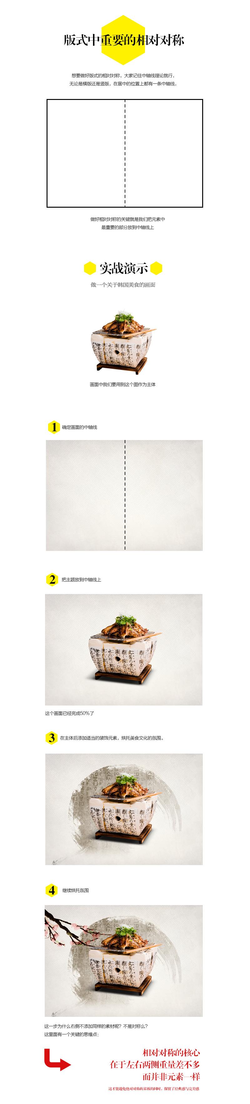 版式设计的相对对称05-莫贝网www.mobileui.cn