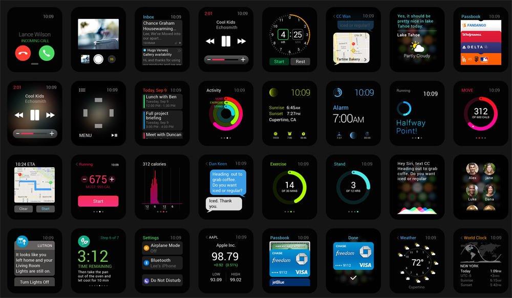 精品App Watch模板+UI组件免费下载1