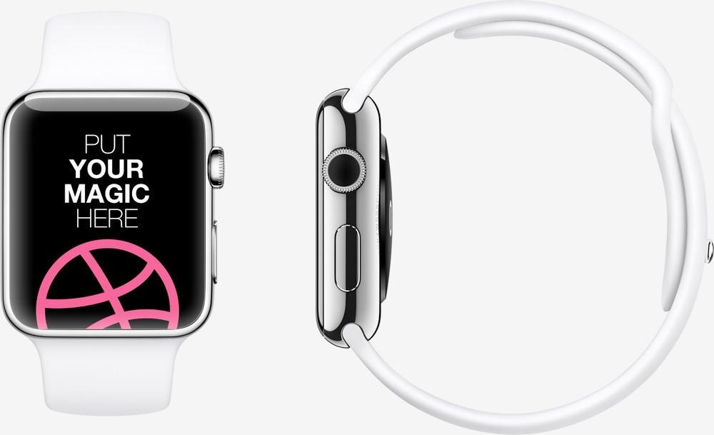 精品App Watch模板+UI组件免费下载Apple Watch Free Template