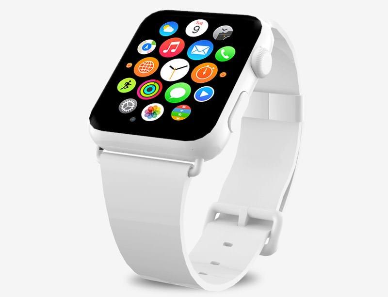 精品App Watch模板+UI组件免费下载 Apple Watch Mockup 2