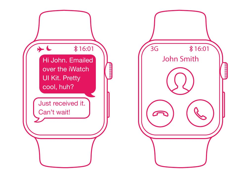 精品App Watch模板+UI组件免费下载4