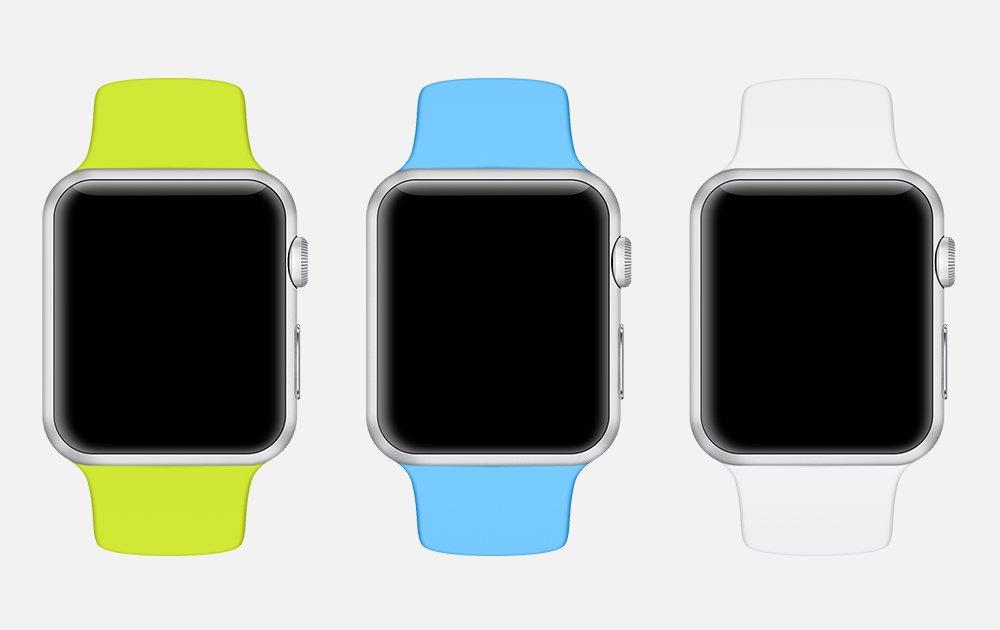 精品App Watch模板+UI组件免费下载6