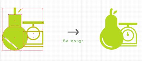 椭圆简约线条边框素材