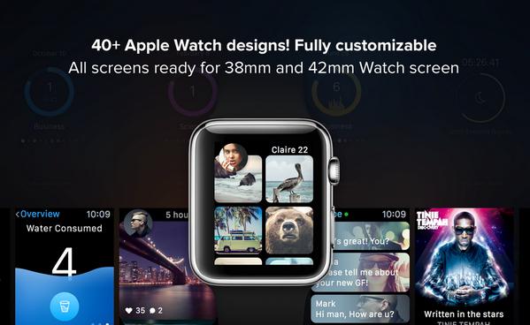 超实用的APPLE WATCH 模板免费下载11
