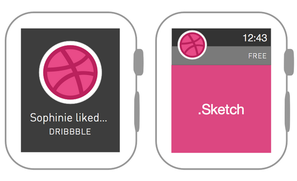 Apple Watch Wireframe by Sophinie Som