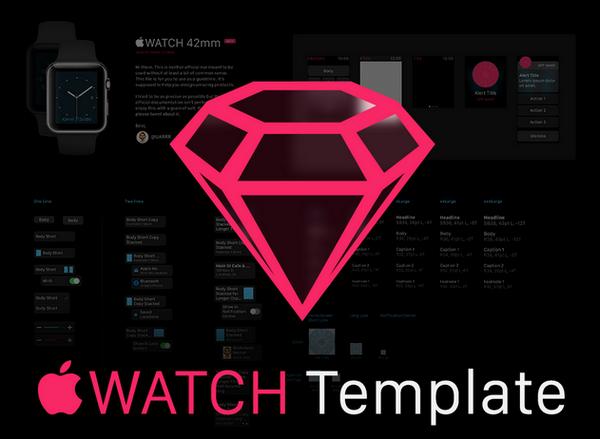 超实用的APPLE WATCH 模板免费下载66