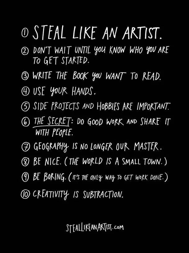 10条没人告诉你的创意秘诀