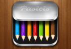 彩色铅笔图标UI设计