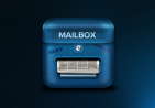 邮箱icon图标设计