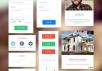 35套扁平化风格网页设计UI组件和图标