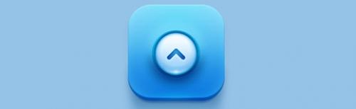 Photoshop绘制蓝色icon图标设计教程