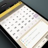 五彩缤纷的手机日历设计欣赏