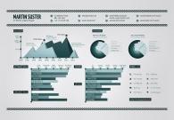 如何做一张信息图风格的设计师简历?