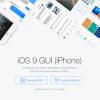 iOS 9 UI KIT设计模板(PSD + Sketch)