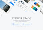 iOS 9 UI KIT设计模板(PSD + Sketch)