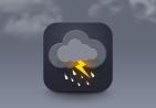 闪电云标志绘制教程