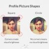 为什么UI设计中,用户的个人头像大多是圆形的?