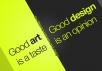 设计和艺术有哪些本质的区别