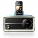 飞利浦ORD2105 iphone5 nano7音响苹果5底座充电音箱 复古收音机