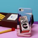 沙曼塔原创手绘火柴盒苹果7 plus手机壳iPhone7P超薄磨砂手机壳