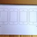 iphone 草图本 交互原型设计模版