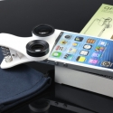 手机鱼眼广角微距通用万能夹子三合一镜头