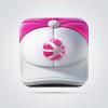 精致的帽子图标