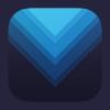 蓝+紫扁平化图标