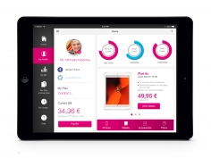 T-Mobile for iPad ui