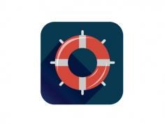 救生圈图标UI设计
