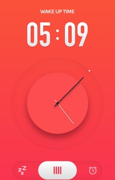 Alarm App界面设计